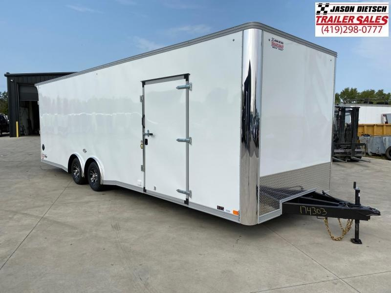 2021 United XLT 8.5X28 Extra Height Car/Racing Trailer