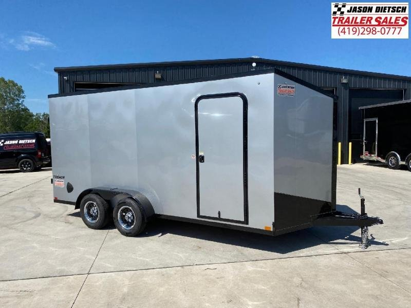 2021 Impact Tremor Blackout 7x16 V-Nose Cargo Trailer