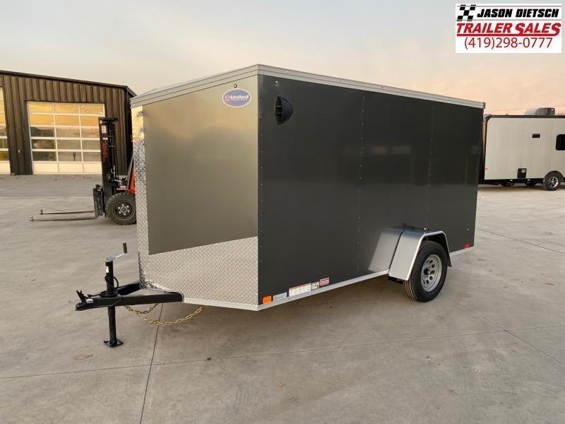 2021 United XLV 6X12 V-Nose Cargo Trailer