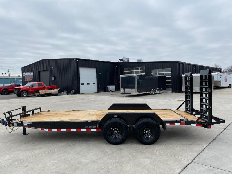 2021 Load Trail 83X20 W/ Dovetail Equipment Trailer 14K