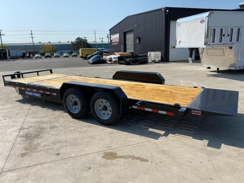 2021 Sure-Trac 7x18+4 Tilt Bed Equipment Trailer 16K