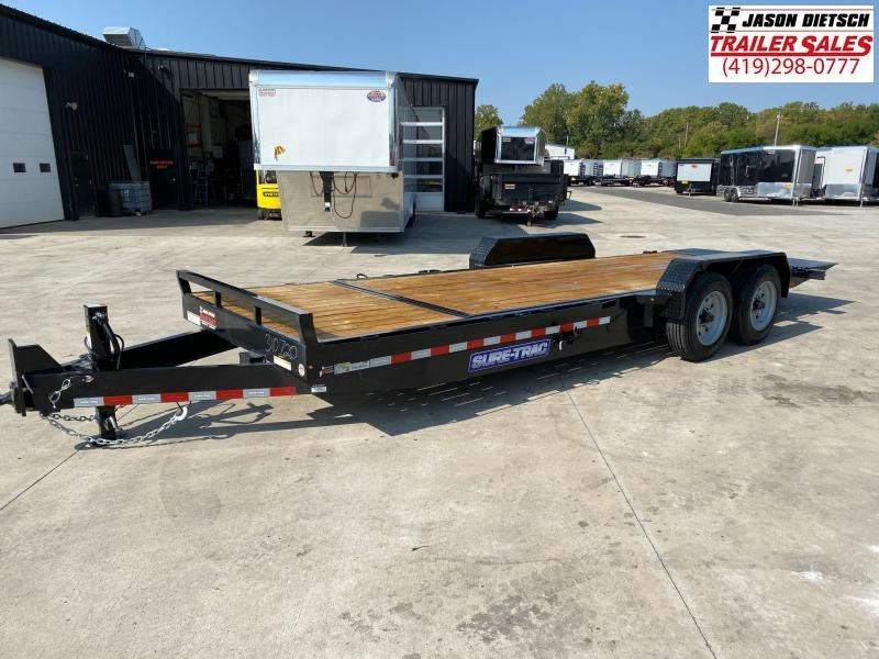 2021 Sure-Trac 7x18+4 Tilt Bed Equipment Trailer 16K