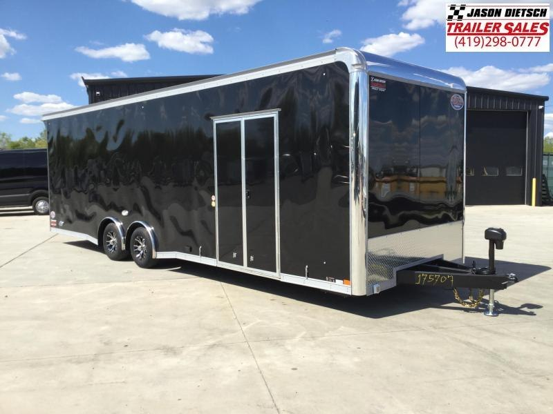 2022 United GEN4 8.5x28 Extra Height Car/Race Trailer