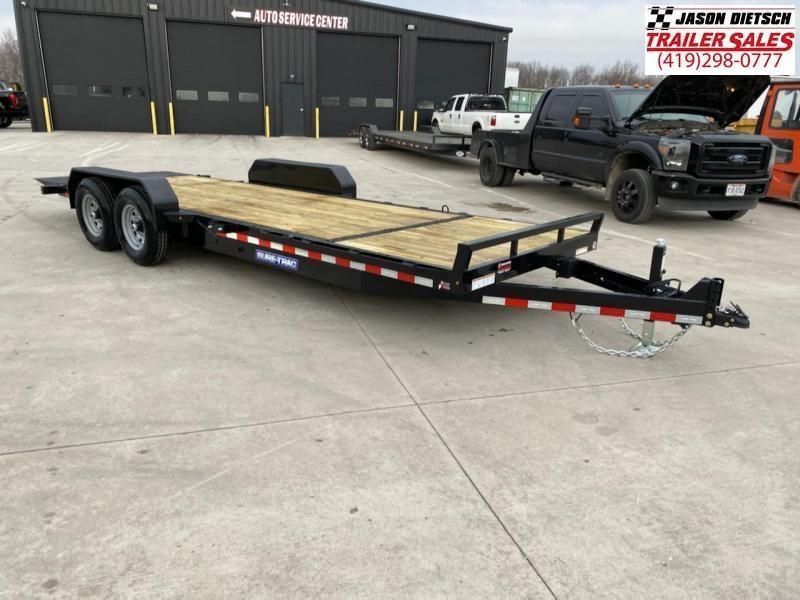 2021 Sure-Trac 7 x 18+4 Tilt Bed Equipment Trailer  14K