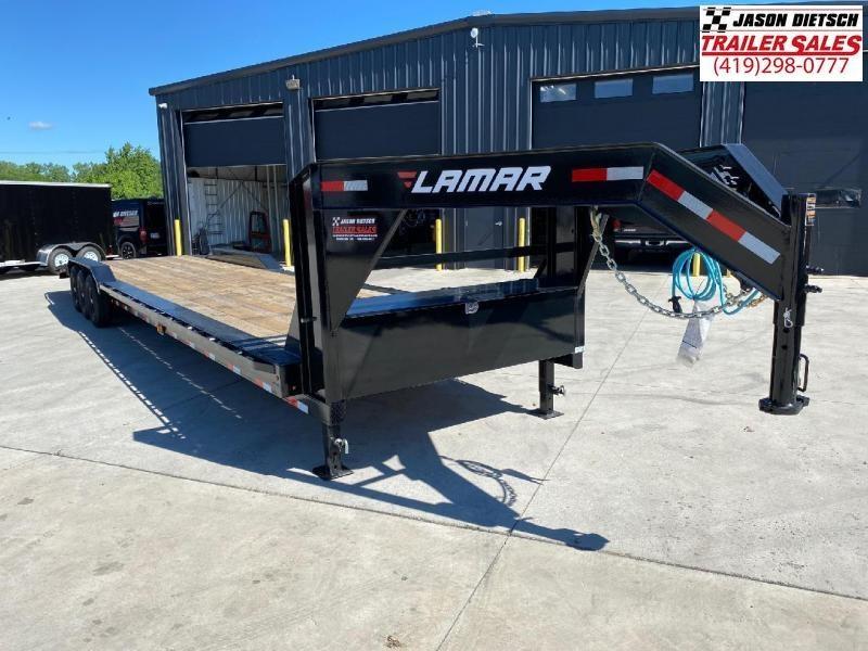 2020 Lamar 102X38 Gooseneck Equipment Trailer