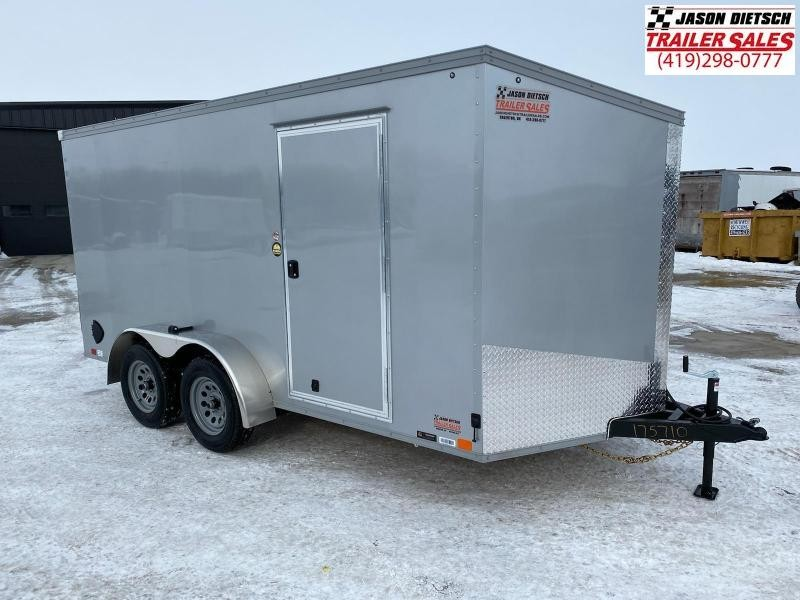 2021 United XLV 7X14 V-Nose  Cargo Trailer