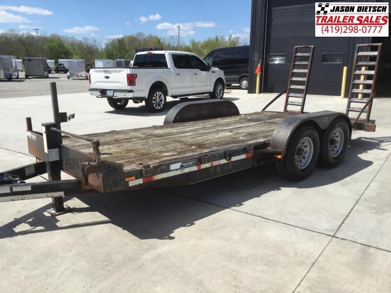 2004 MAC LANDER 83x16 Equipment Hauler Trailer 14K