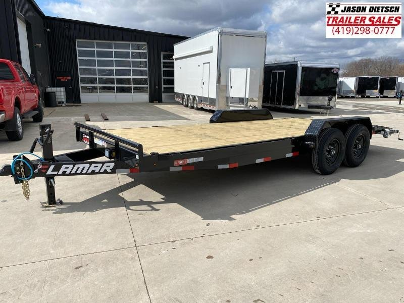 2021 Lamar 83x20 Equipment Trailer 14K