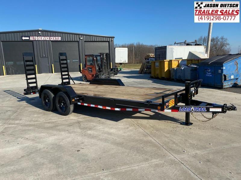 2021 Load Trail 83X20 W/ Dovetail Open Car Hauler Equipment Trailer 14K