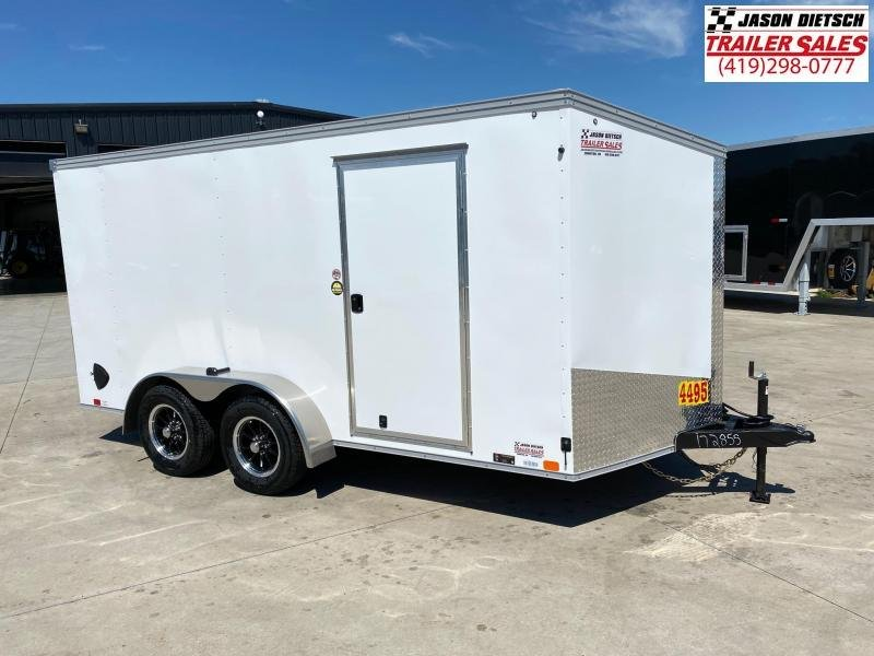2021 United Trailers XLV 7x14 V-Nose Enclosed Cargo Trailer....Stock# UN-172855