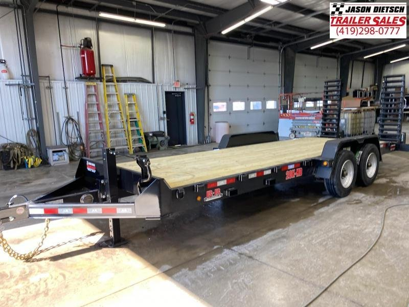 2021 Behnke  83X22 Equipment Trailer 20K