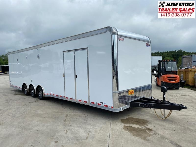 2021 United 8.5X34 Car/Race Trailer Extra Height