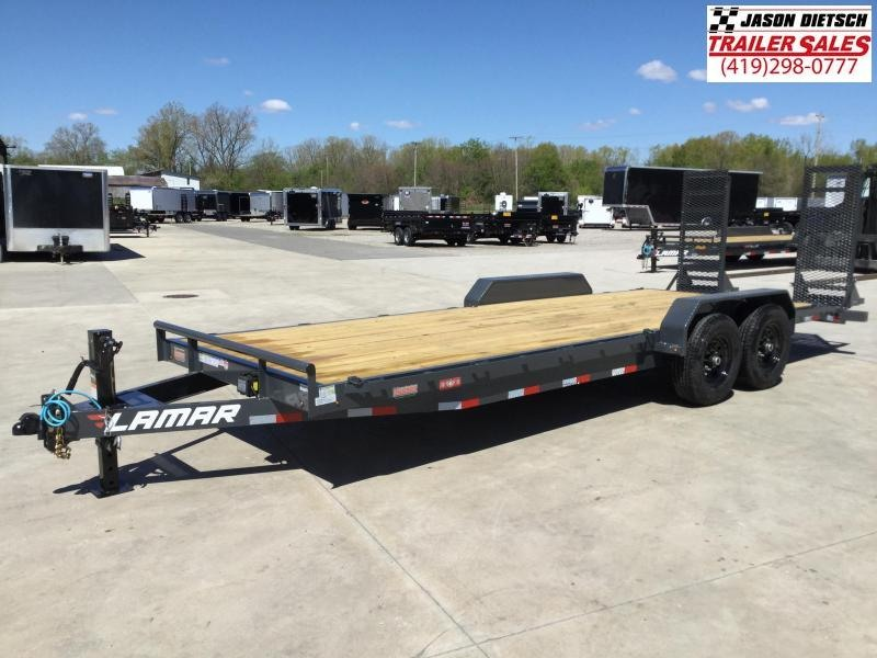 2021 Lamar 83x22 Equipment Trailer 14K