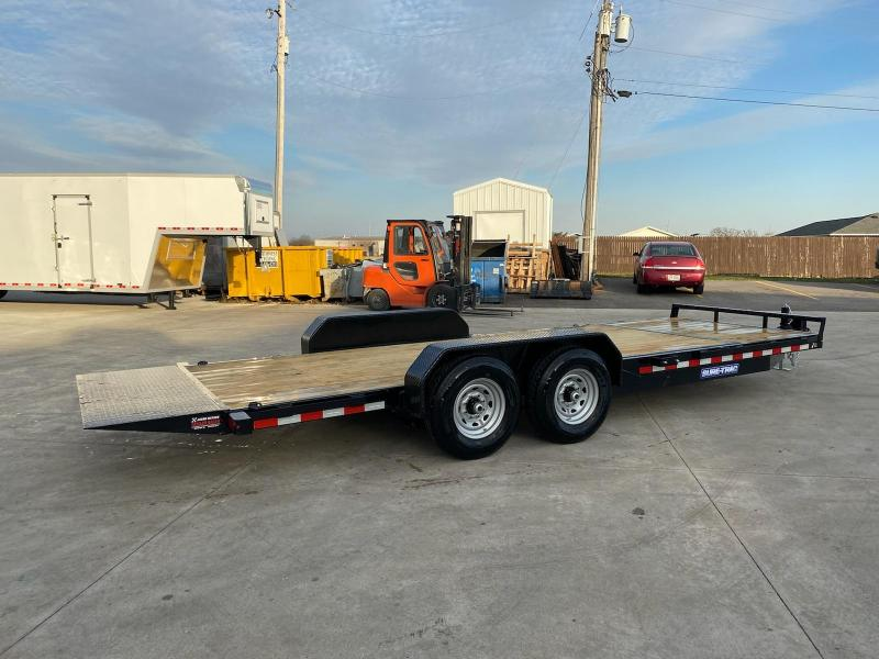 2021 Sure-Trac 7x18+4 Tilt Bed Equipment Trailer 14K