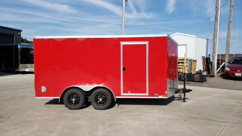 2020 United XLV 7x14 V-Nose Cargo Trailer