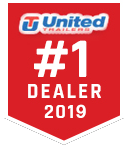 """2019 United 8.5X32 Car/Race Trailer 12"""" Extra Height"""