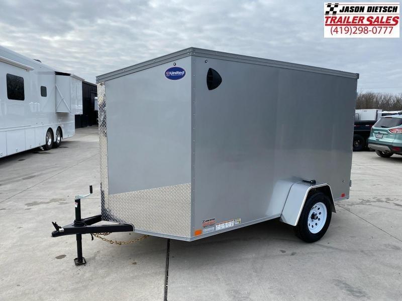 2021 United XLV 6X10 V-Nose Cargo Trailer