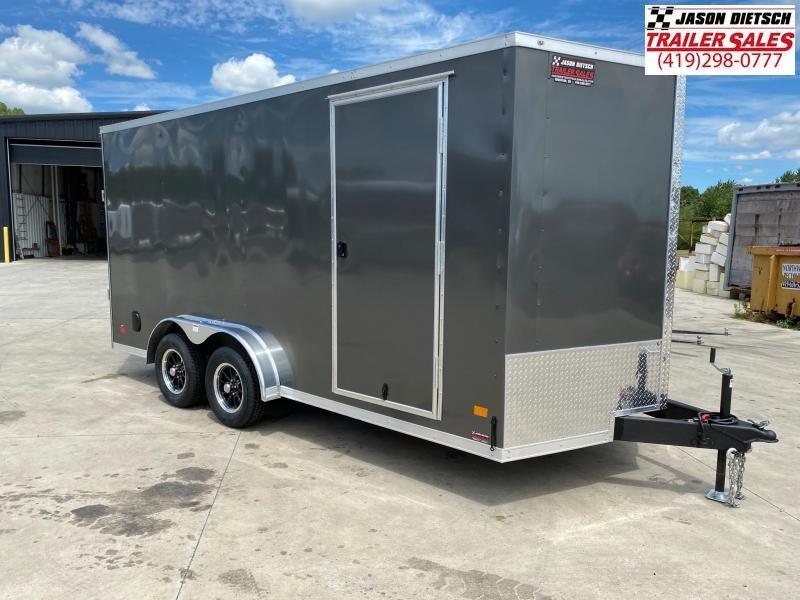 2021 Darkhorse 7.5x16 V-Nose Cargo Trailer Extra Height