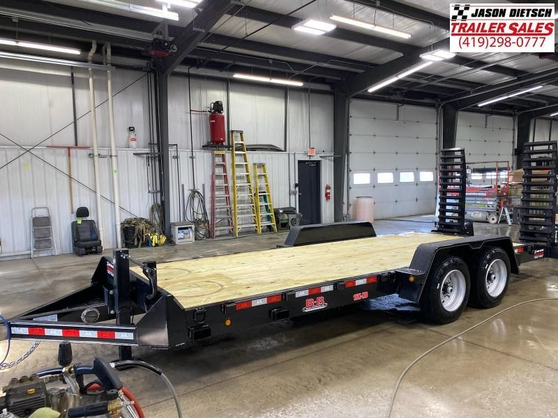 2021 Behnke  83X20 Equipment Trailer 16K