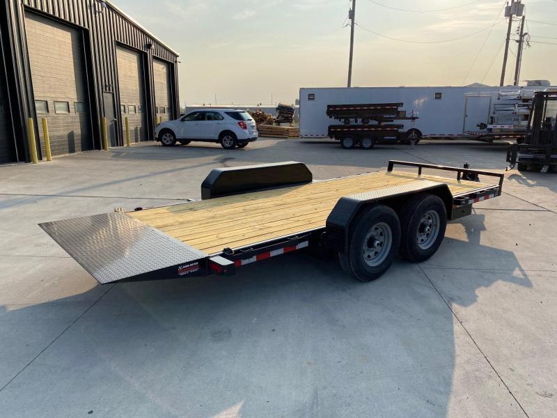 2021 Sure-Trac 7 x 18 Tilt Bed Equipment Trailer  14K