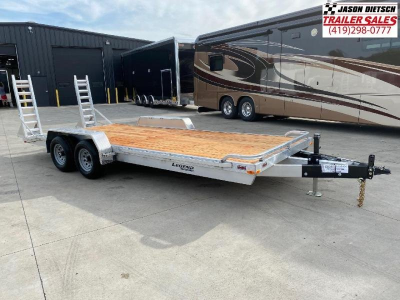2021 Legend 7x20 *All Aluminum* Equipment/Car Trailer