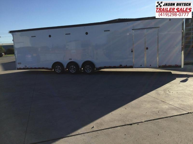 2022 United Trailers 8.5X34 EXTRA HEIGHT Car / Racing Trailer