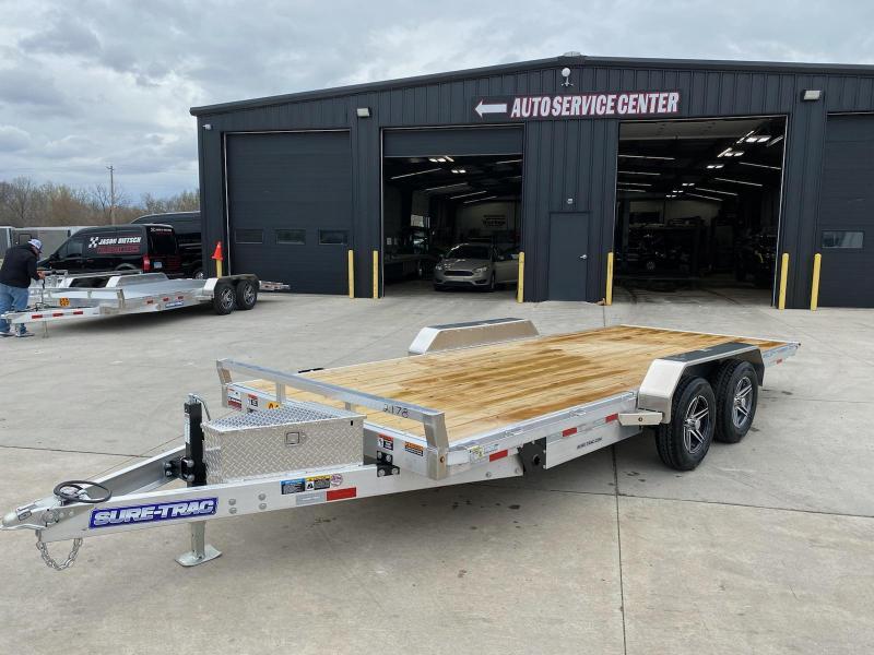 2021 Sure-Trac 82 x 18 Electric Aluminum Tilt Car Haule