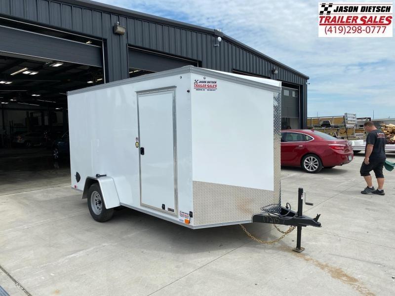 2021 United Trailers XLV 7x12 V-Nose Enclosed Cargo Trailer....Stock# UN-172157