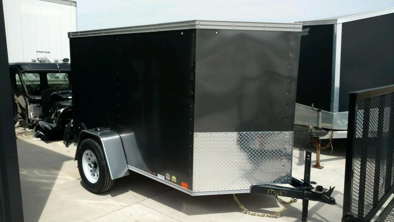 2020 United XLV 5X8 V-Nose  Enclosed Cargo Tr...Stock#UN-172687