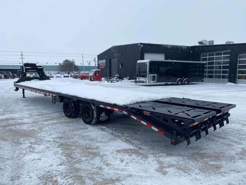 2021 Iron Bull 102x36 Tandem Axle  Gooseneck Trailer
