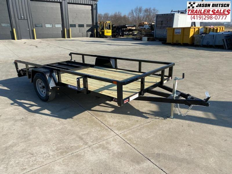 2021 Sure-Trac 6x12 Tube Top Utility Trailer 3K
