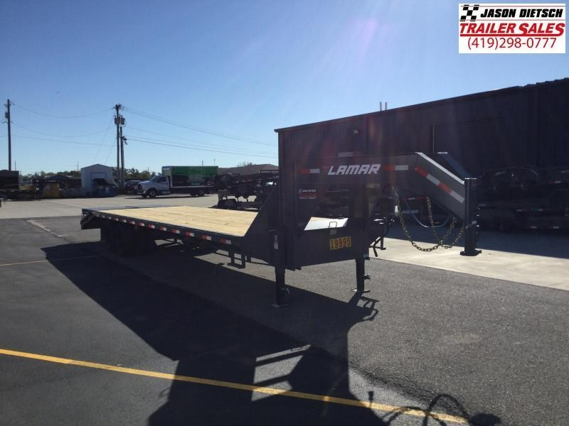 2022 LAMAR 102X32 XD DECK OVER Gooseneck Equipment Trailer