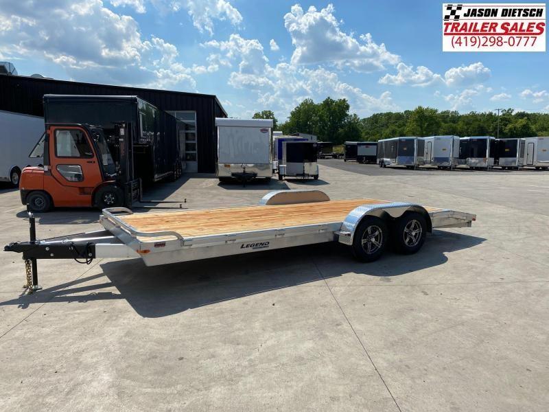 2021 Legend 7x20 Equipment/Car Trailer