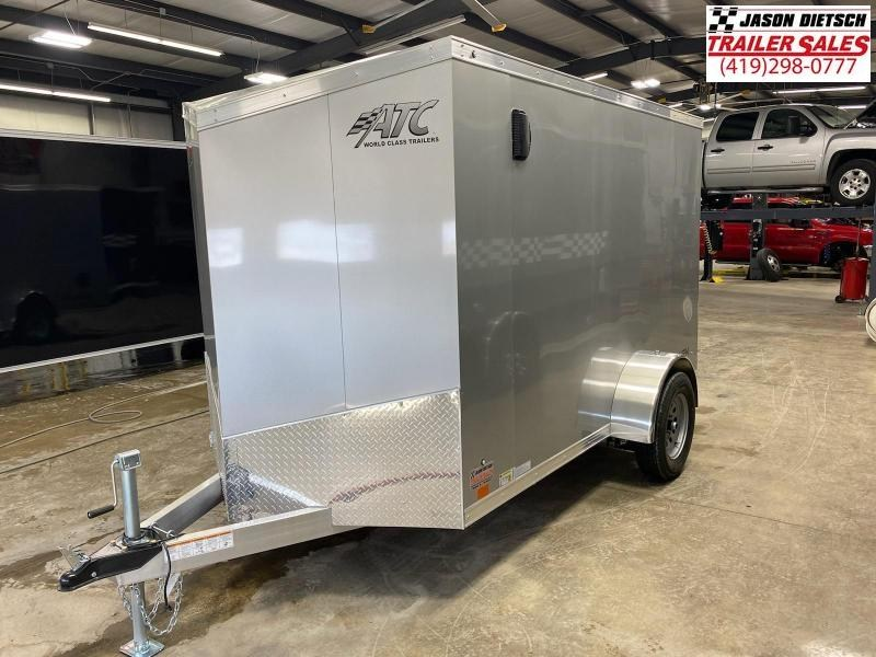 2022 ATC 6X10 ALUMINUM ENCLOSED CARGO TRAILER..