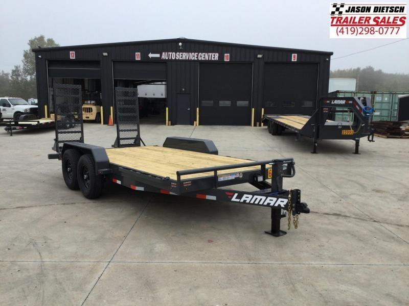 2022 Lamar 83x20 Equipment Trailer 14K