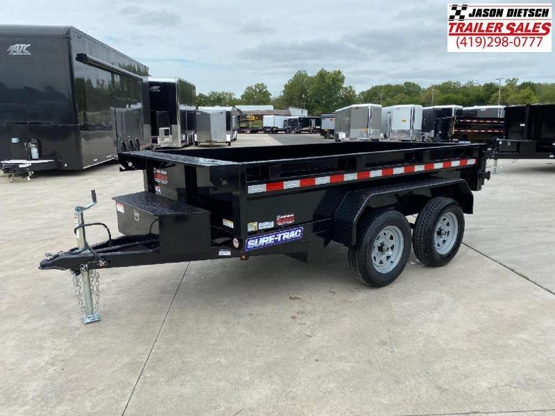 2021 Sure-Trac 5x10 Low Profile 7K Homeowner Dump Trailer