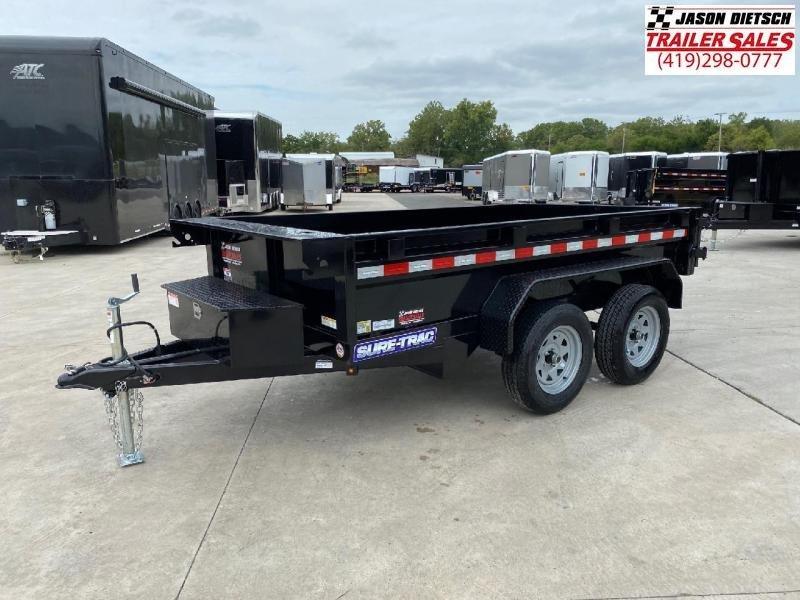 2021 Sure-Trac 5x10 Low Profile 7K Homeowner Dump Trailer