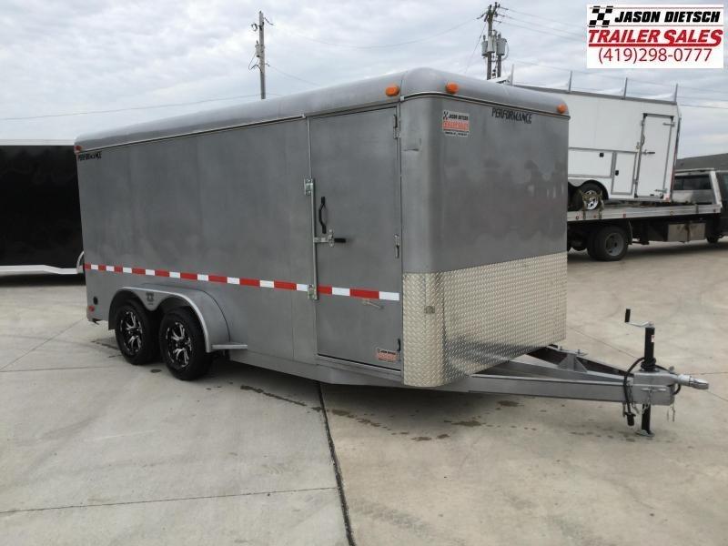 2020 PARKER  7X16  Cargo Trailer
