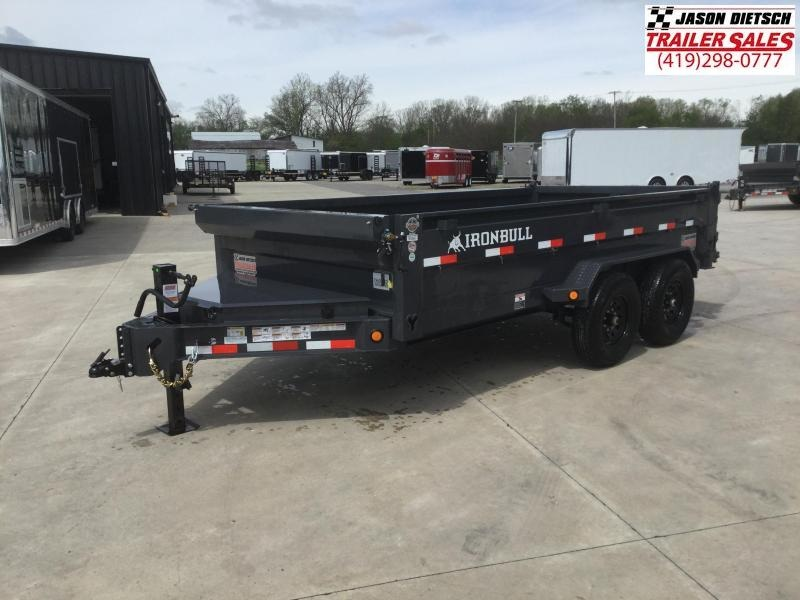 2021 Iron Bull DT 83x14 Tandem Axle Dump Trailer