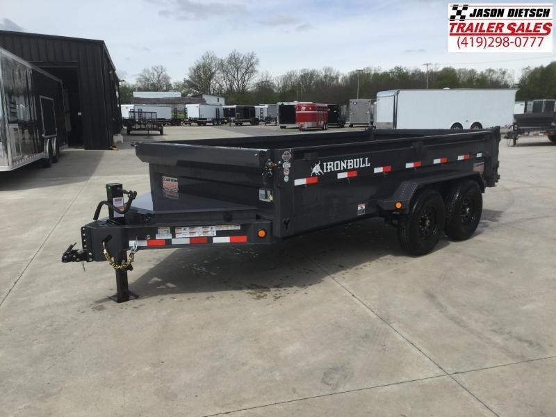 2021 Iron Bull DWB 83x14 Tandem Axle Dump Trailer
