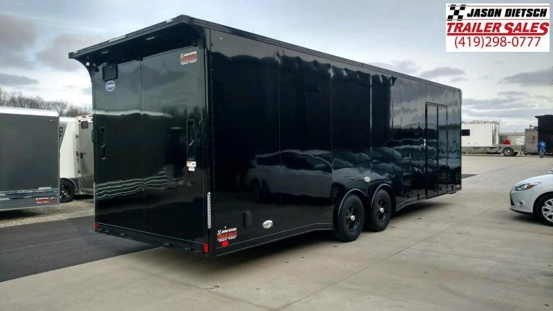 """2020 United 8.5x28 Car/Race Trailer 12"""" Extra Height"""