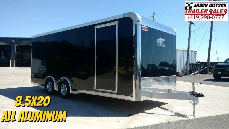 2021 ATC Raven 8.5X20 Enclosed Car/Race Trailer