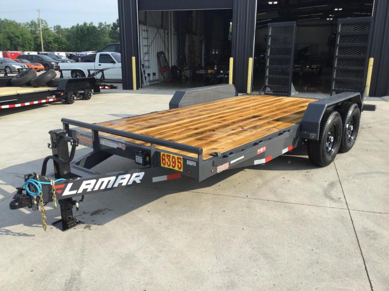 2021 Lamar 83x16 Equipment Trailer 14K