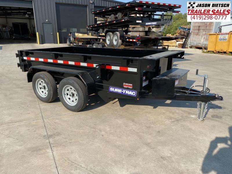 2021 Sure-Trac 5x10 Low Profile Dump Trailer