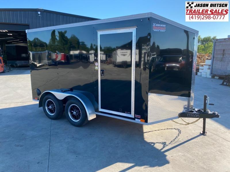 2021 United XLV 7x12 V-Nose Cargo Trailer