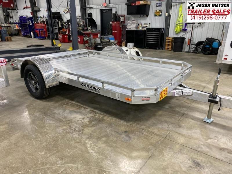 2022 LEGEND 7X12 Aluminum Utility Trailer