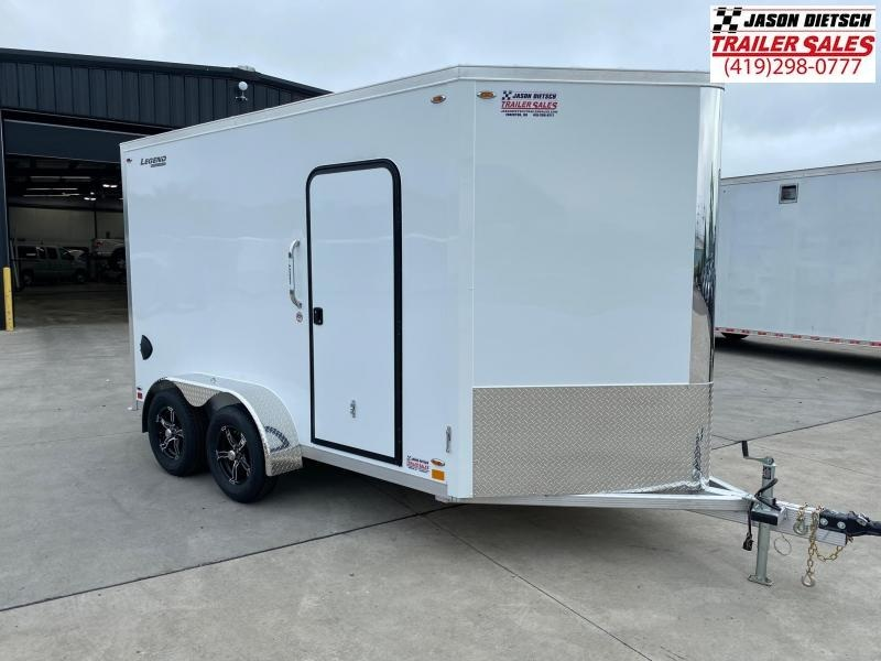 "2021 Legend  7X15 Cargo Trailer 6"" Extra Height"