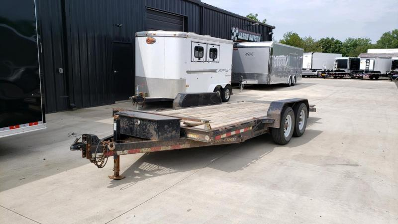 2012 Sure-Trac 7x18 Tilt Bed Equipment 14k