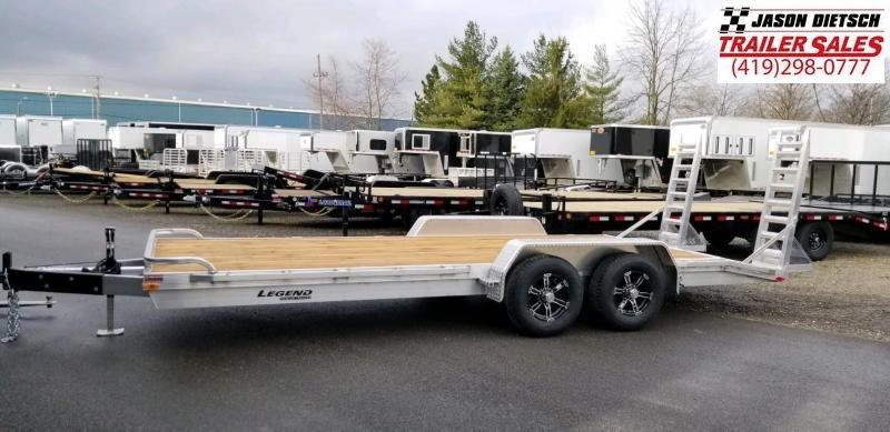 2020 Legend 7x20 All Aluminum Equipment Trailer