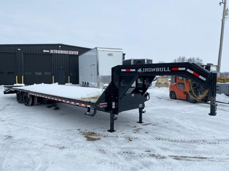 2021 Iron Bull 102x34 Tandem Axle  Gooseneck Trailer
